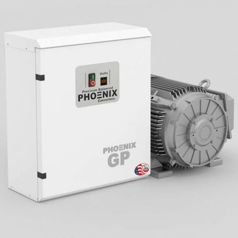 5 HP Rotary Phase Converter - GP5PL Single Phase to Three Phase Converter