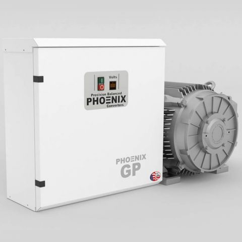 50 HP Rotary Phase Converter - GP50PL Single Phase to Three Phase Converter