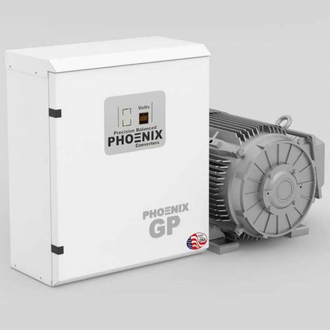 5 HP Rotary Phase Converter - GP5NL Single Phase to Three Phase Converter