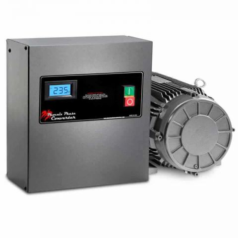 7.5 HP Rotary Phase Converter - GP7PH - Single Phase to Three Phase Converter